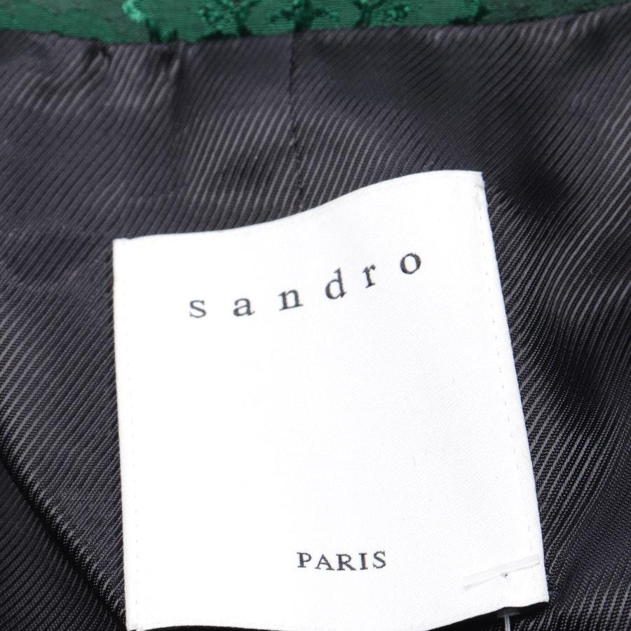 Blazer von Sandro in Smaragdgrün Gr. 34 FR 36