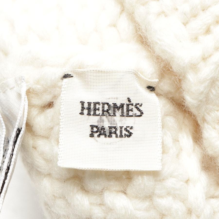 Kaschmirstulpen von Hermès in Wollweiß