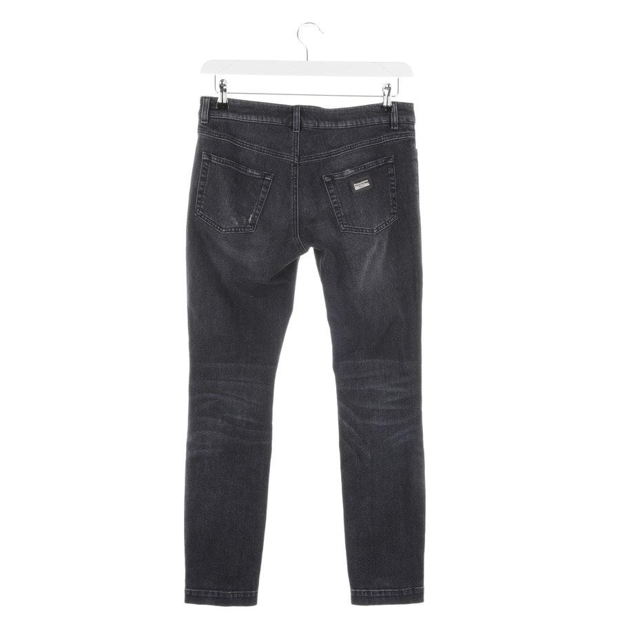 Jeans von Dolce & Gabbana in Dunkelgrau Gr. 36 IT 42