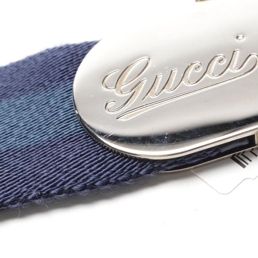 Gürtel von Gucci in Blau Gr. 85 cm