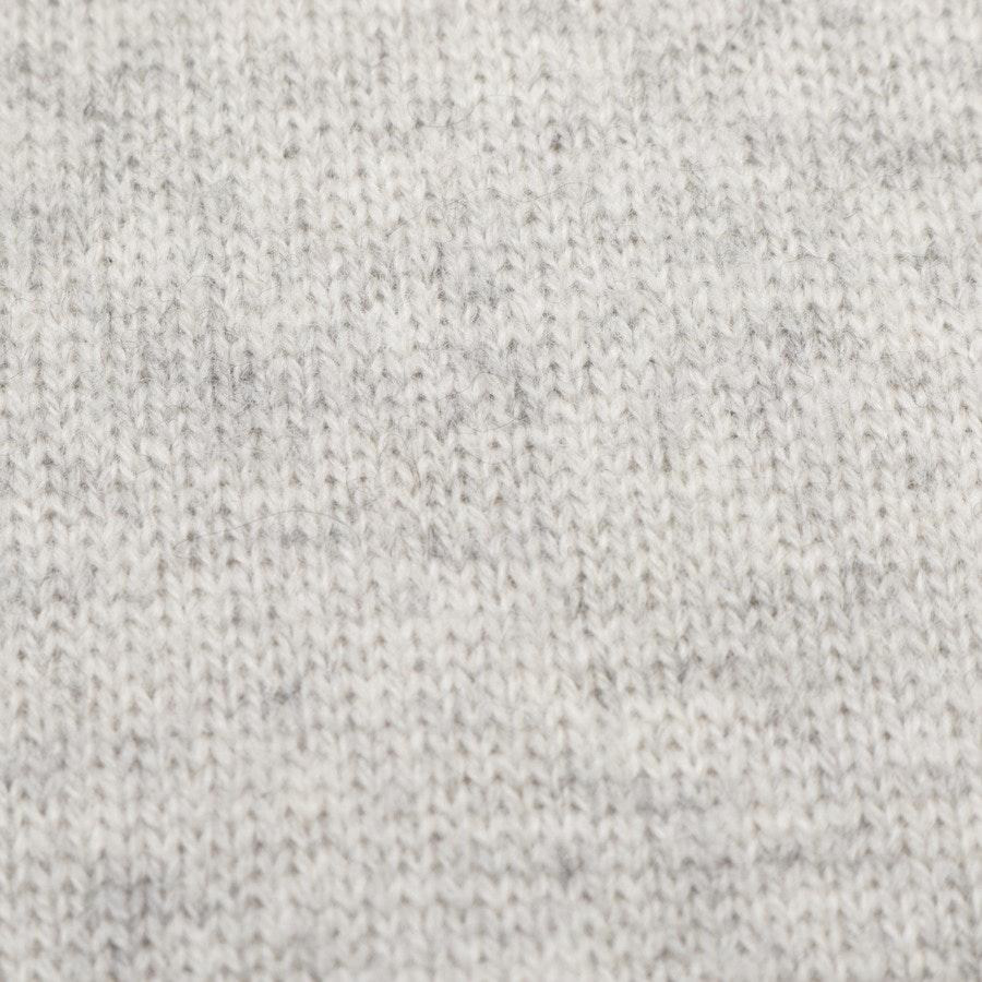 knitwear from Allude in grey mottled size L