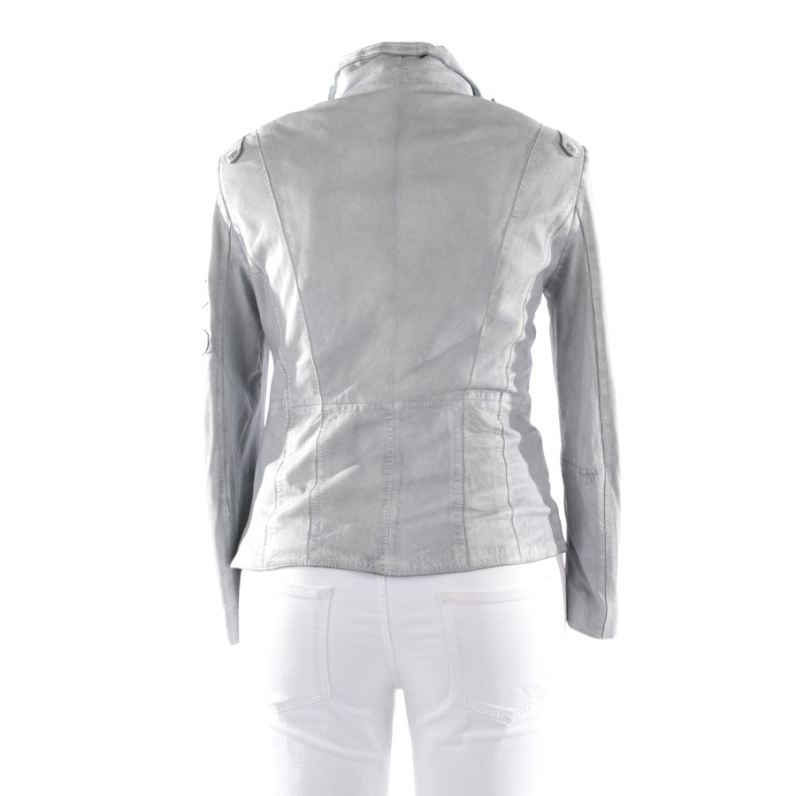 leather jacket from Schyia in grey size 42