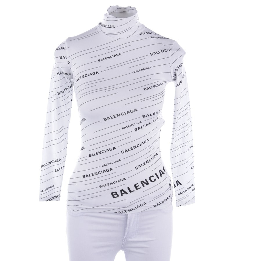 jersey from Balenciaga in white and black size XS - new