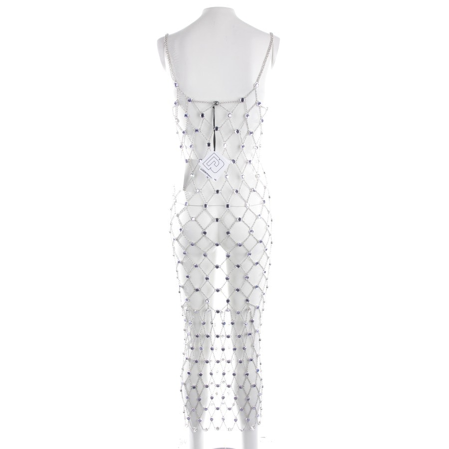dress from Paco Rabanne in silver size XS - new