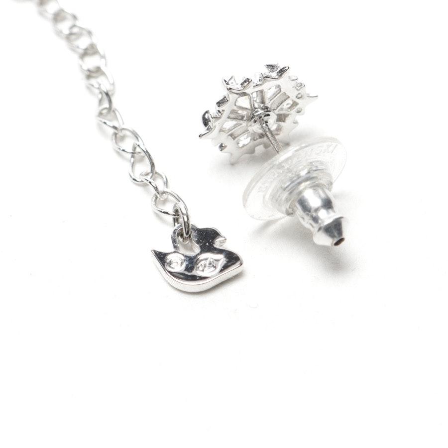 Ohrringe und Kette von Swarovski in Silber