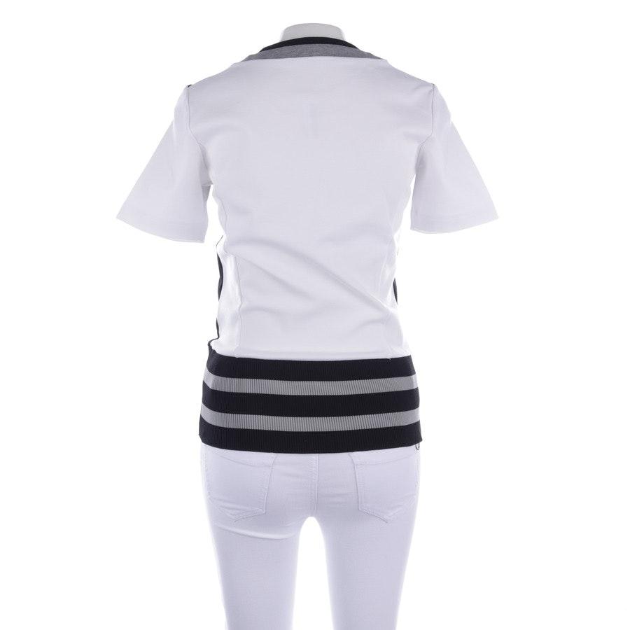 Sweatshirt von Bikkembergs in Weiß und Schwarz Gr. XS