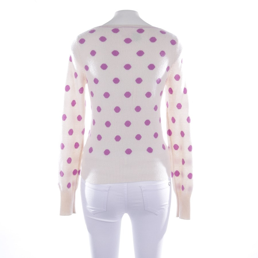 knitwear from Princess goes Hollywood in cream and purple size 36