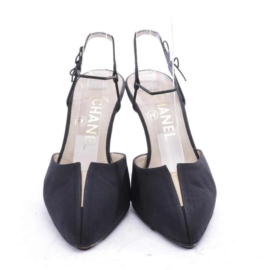 Sandaletten von Chanel in Schwarz Gr. EUR 37,5 - Neu