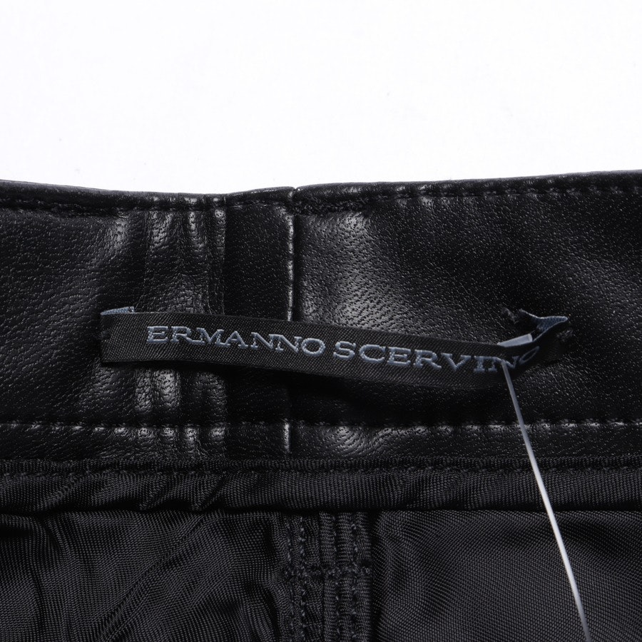 trousers from Ermanno Scervino in black size 30 IT 36