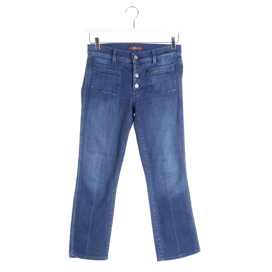 jeans from 7 for all mankind in blue size W27