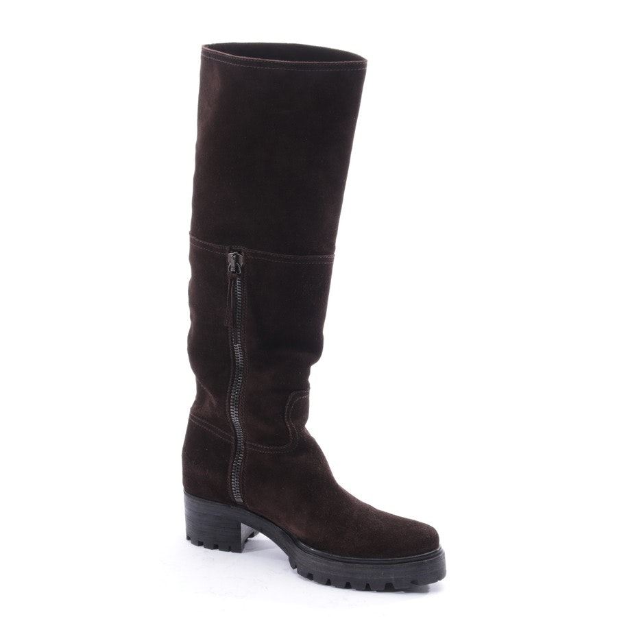 boots from Miu Miu in brown size EUR 39