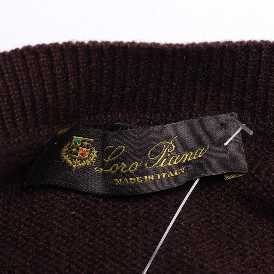 Kaschmirkleid von Loro Piana in Bordeaux Gr. 36 IT 42
