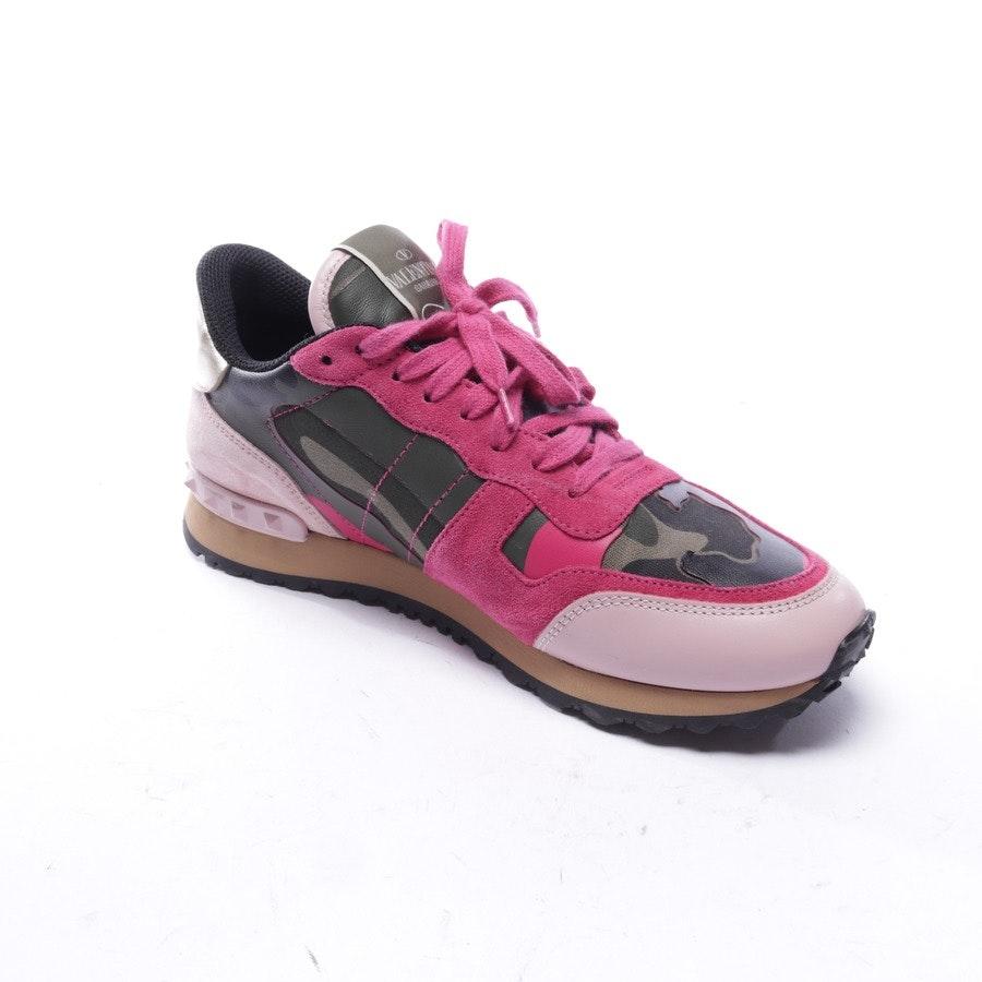 Sneaker von Valentino in Olivgrün und Multicolor Gr. EUR 39 - Rockstud