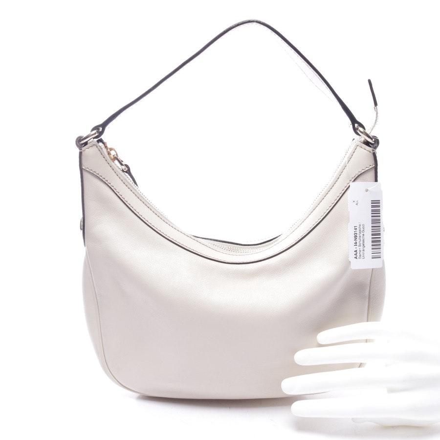 shoulder bag from Gucci in ecru - charmy hobo