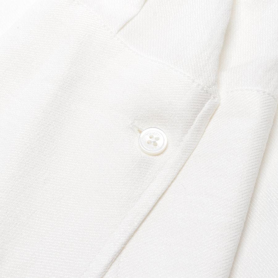 Bluse von Lareida in Wollweiß Gr. 40 - Neu