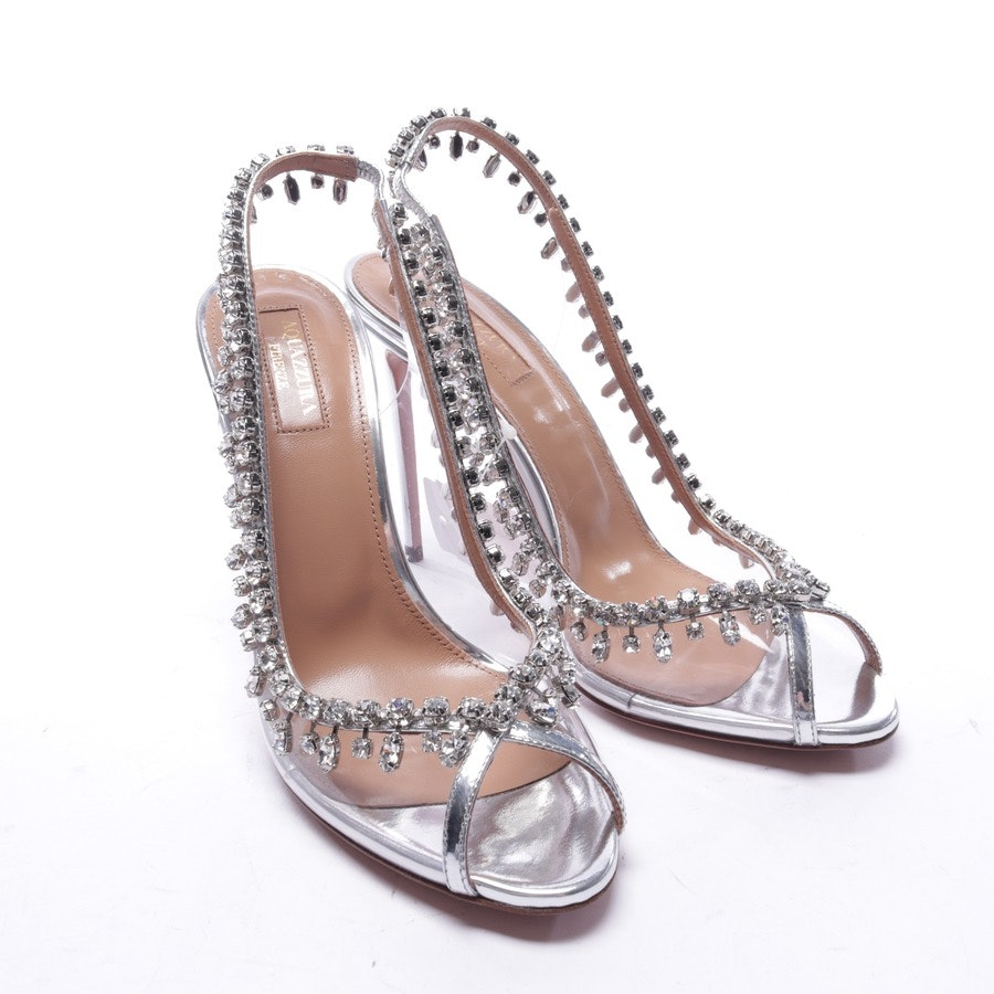 heeled sandals from Aquazzura in transparent size EUR 38 - new
