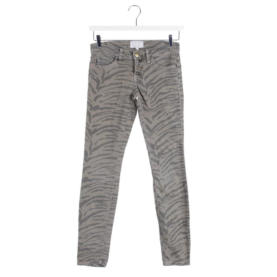 Jeans von Current/Elliott in Grün und Grau Gr. W25