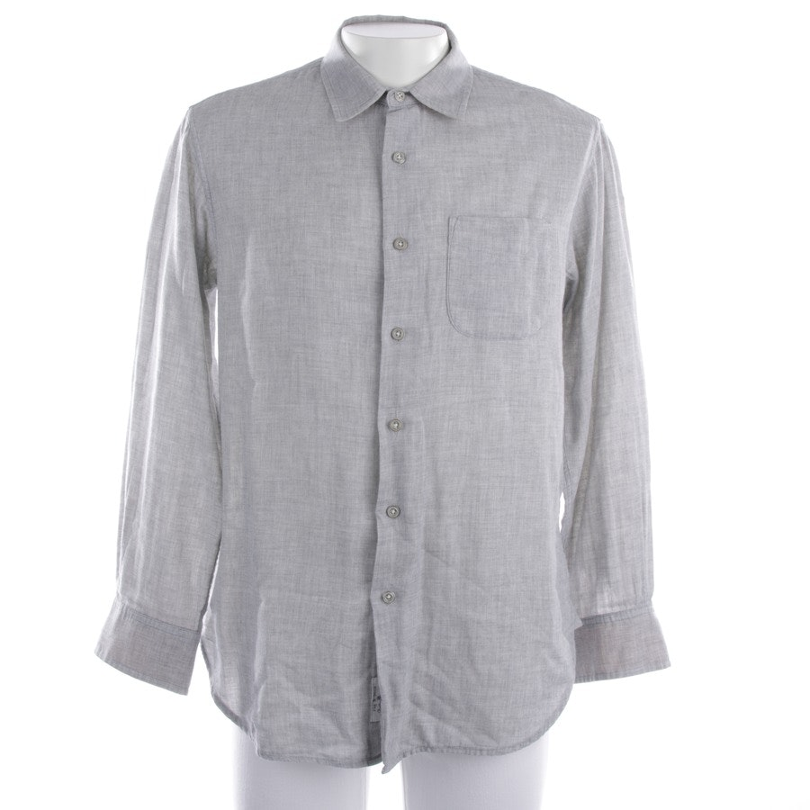 casual shirt from Rag & Bone in grey mottled size M