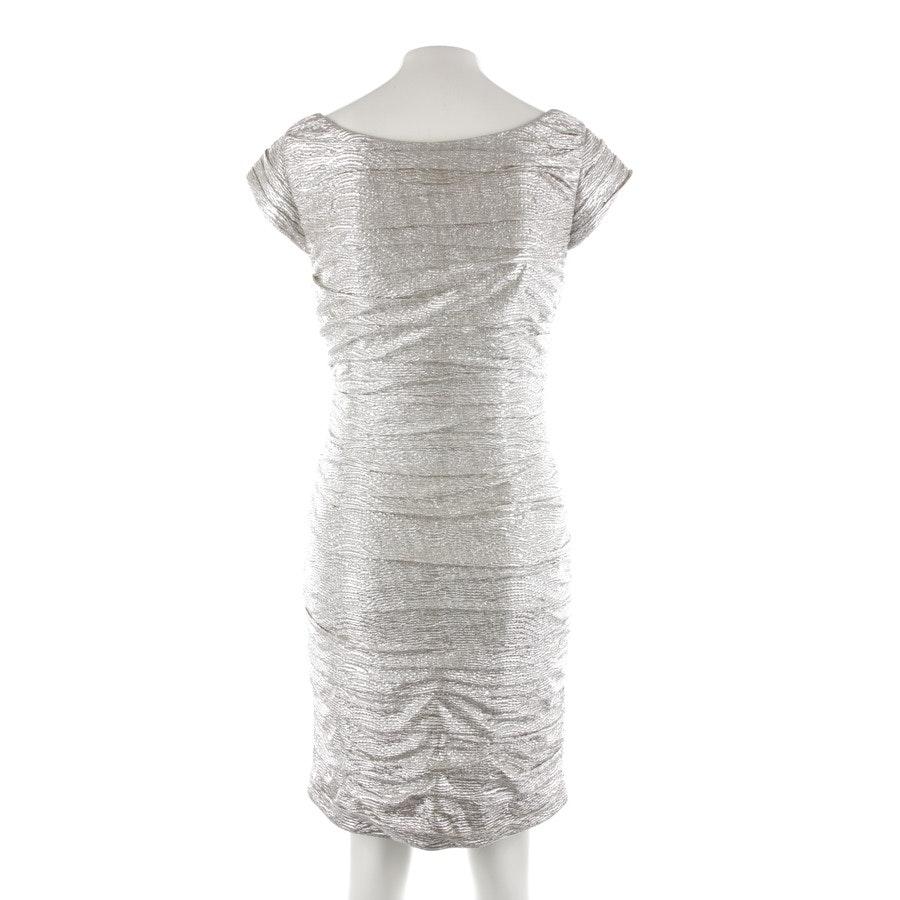 Kleid von Steffen Schraut in Silber Gr. 38