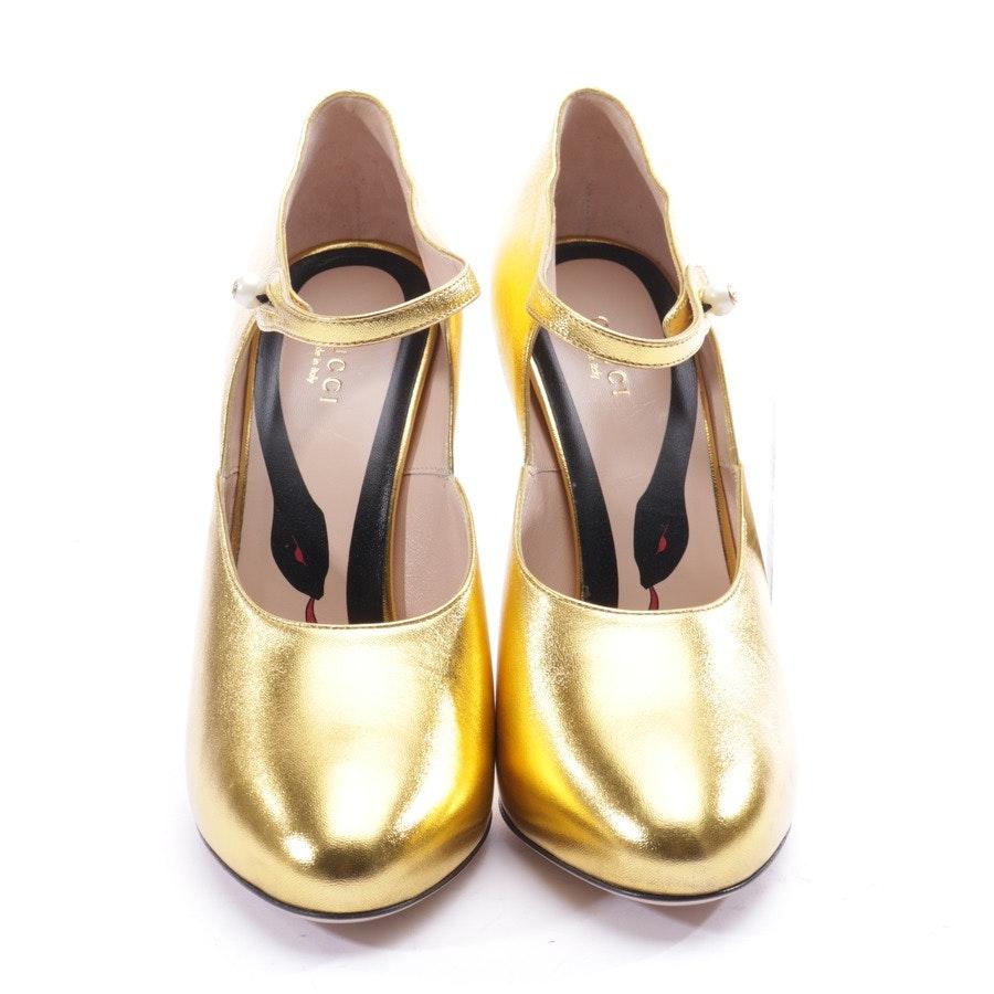 Pumps von Gucci in Gold Gr. EUR 40 - Neu