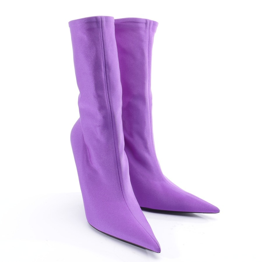 ankle boots from Balenciaga in purple size EUR 41 - new