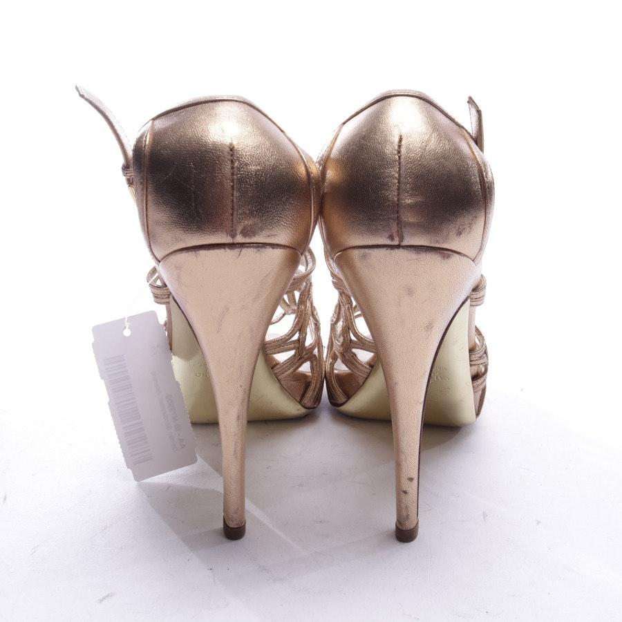 Sandaletten von Valentino in Gold Gr. EUR 38
