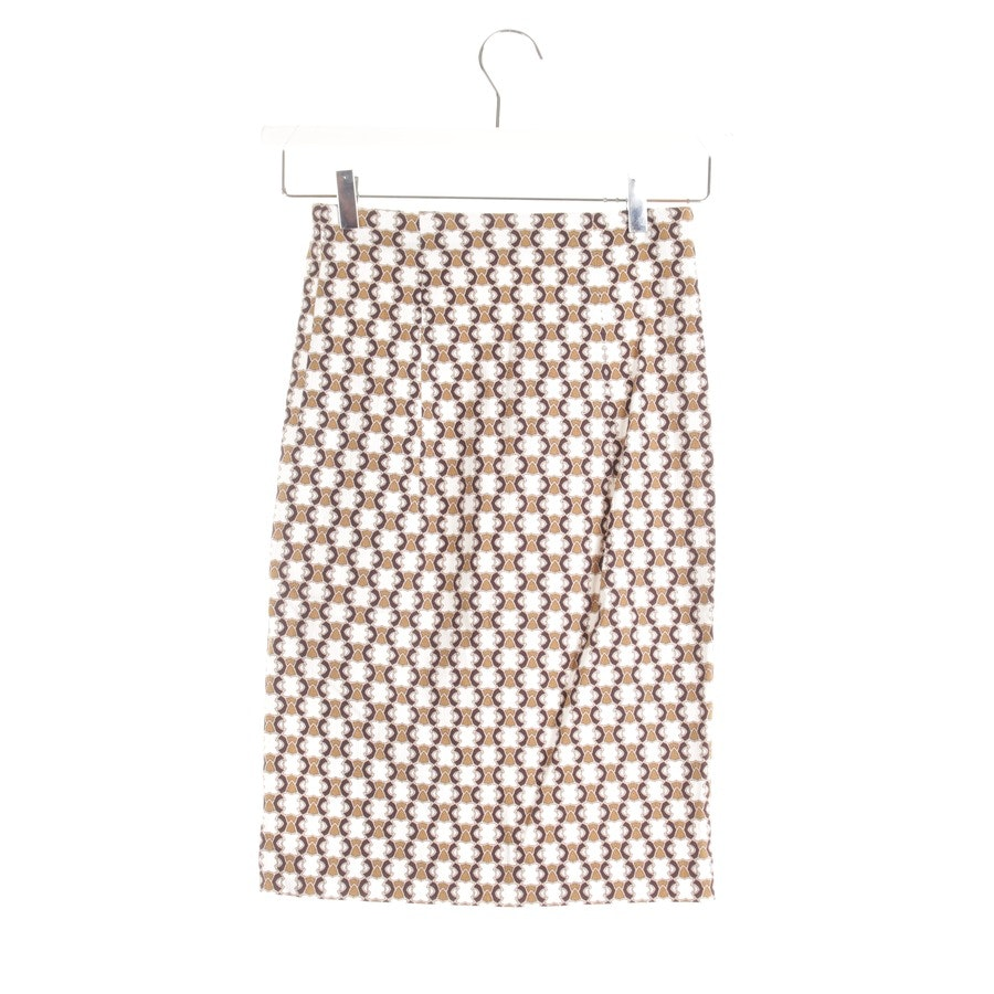 skirt from Schumacher in khaki & cream size XS / 1
