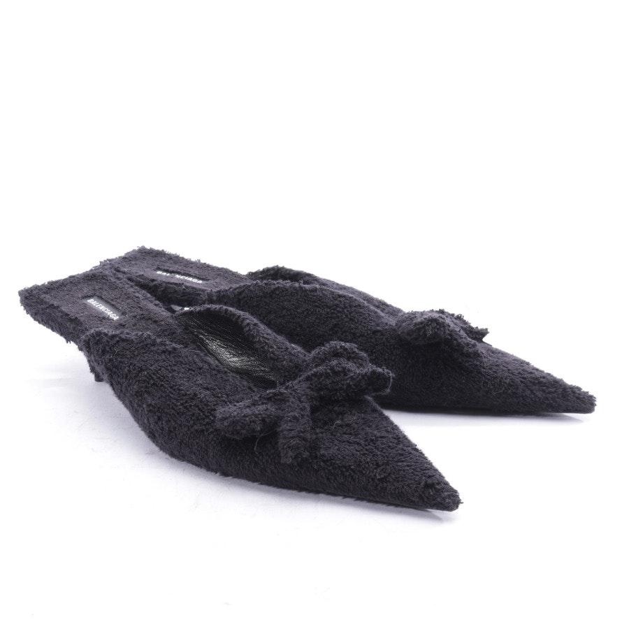 Pantoletten von Balenciaga in Schwarz Gr. EUR 40 - Neu