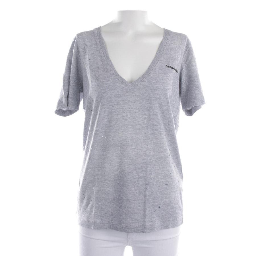 Shirt von Dsquared in Grau meliert Gr. XS