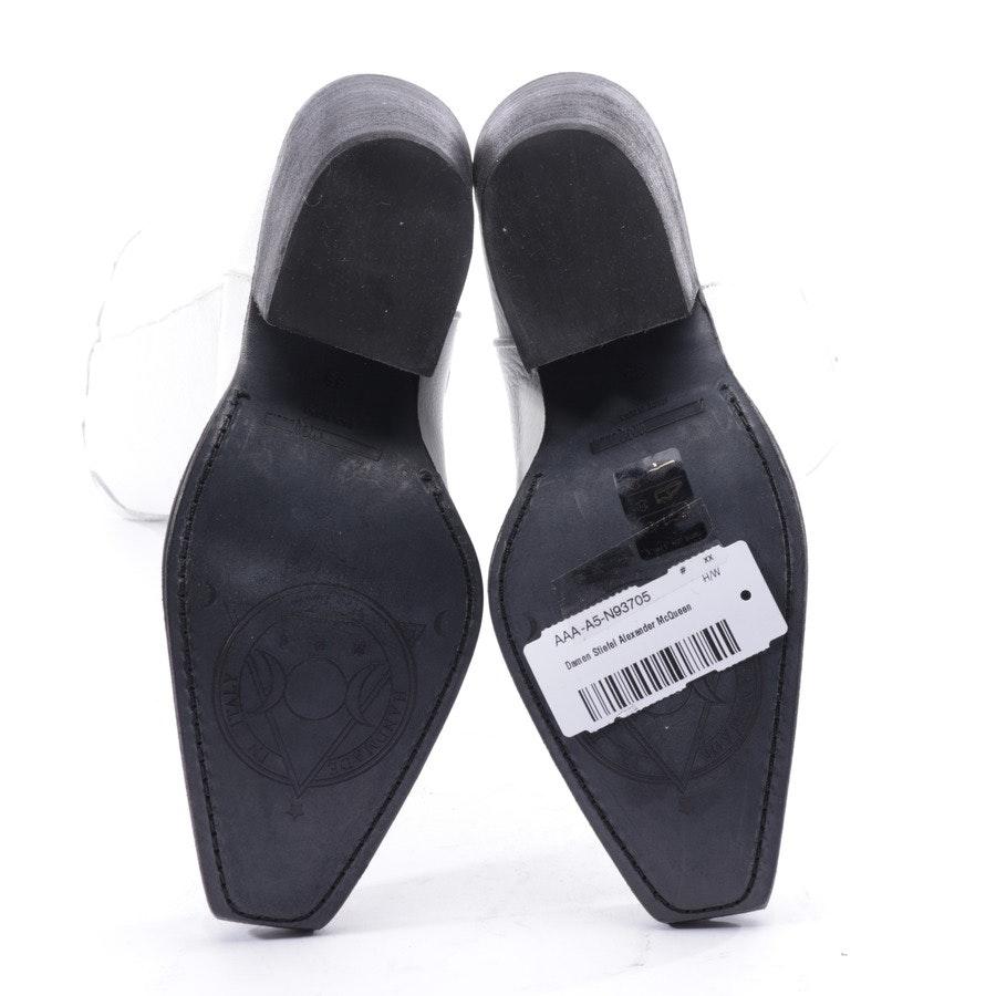 Stiefel von Alexander McQueen in Weiß Gr. EUR 35 - Neu