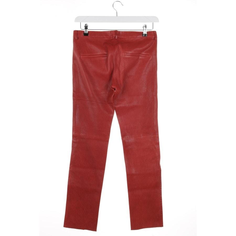 Lederhose von Isabel Marant in Rot Gr. 36 FR 38