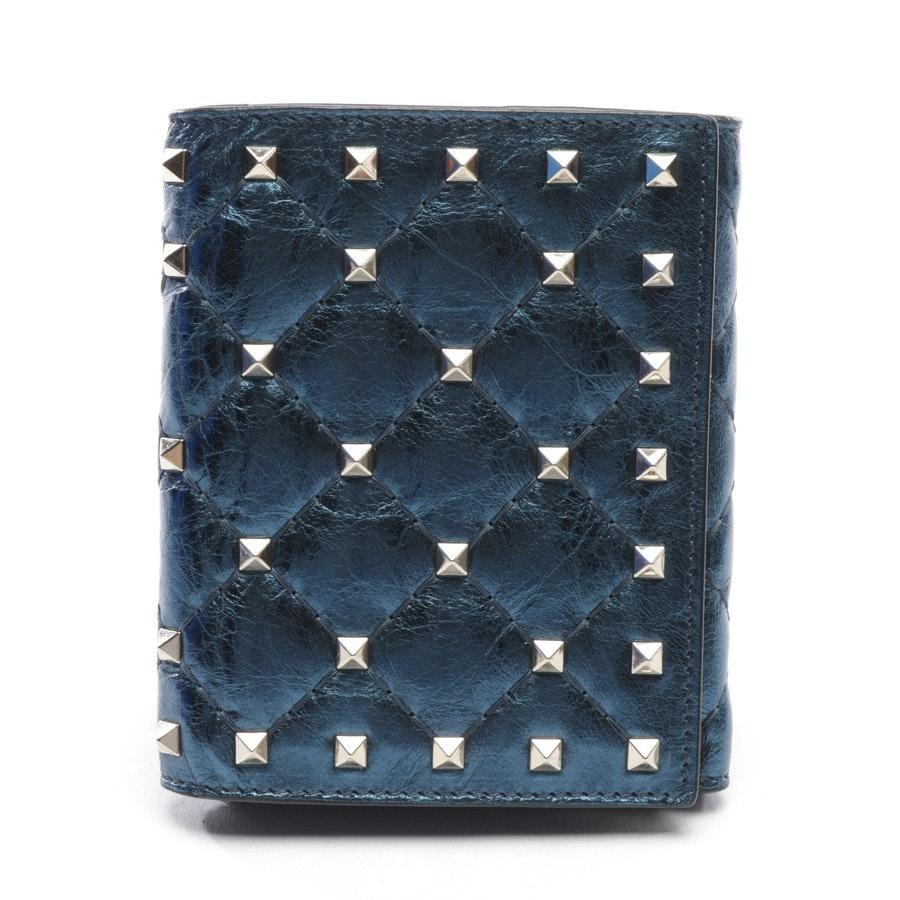Geldbörse von Valentino in Blau - Rockstud