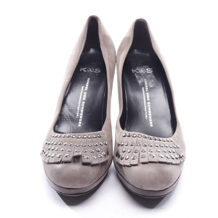 pumps from Kennel & Schmenger in taupe size D 37,5 UK 4,5