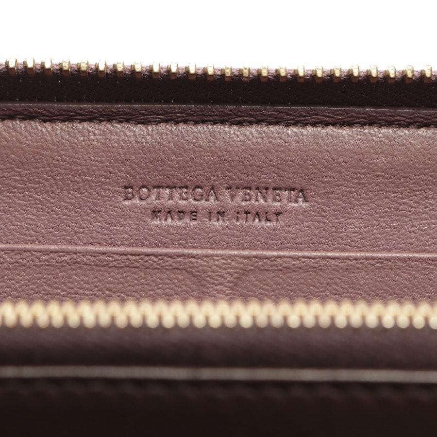 Geldbörse von Bottega Veneta in Pflaume