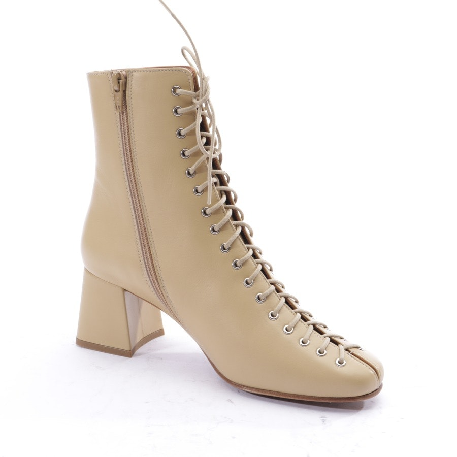 Stiefeletten von by Far in Creme Gr. EUR 37 - Becca - Neu