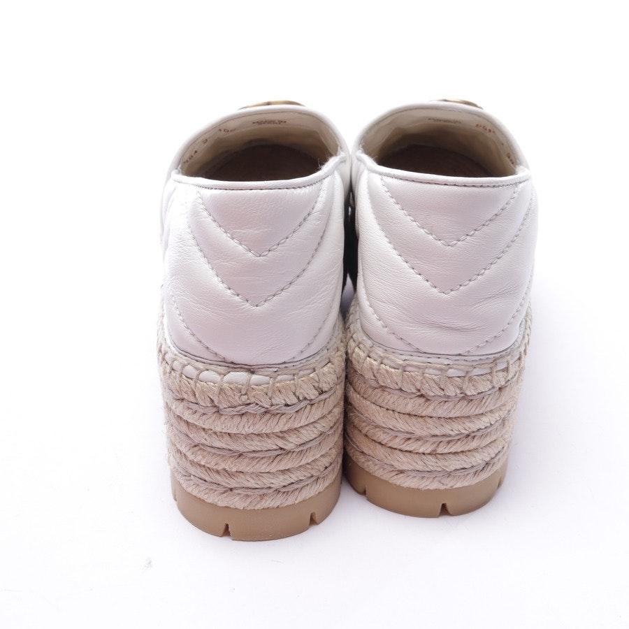 Espadrilles von Gucci in Weiß Gr. EUR 38 - Neu