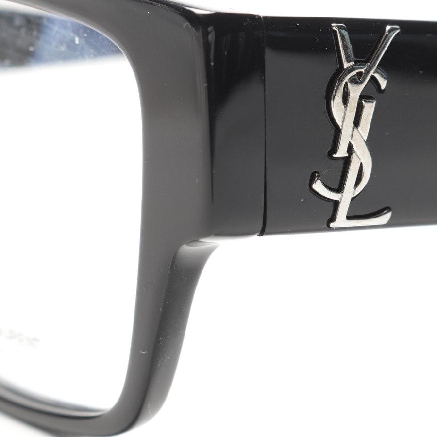 glass frame from Saint Laurent in black
