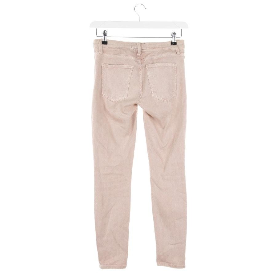 Jeans von Current/Elliott in Lachsrosa Gr. W27
