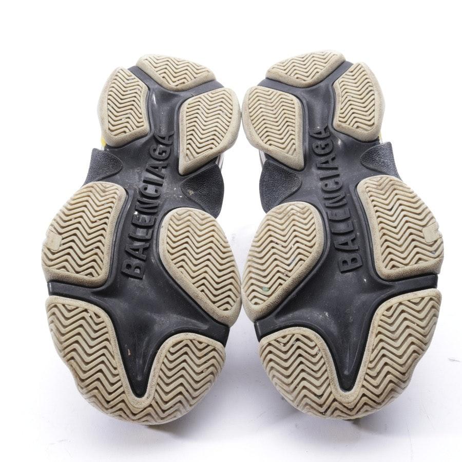 Sneaker von Balenciaga in Grau und Gelb Gr. EUR 36 - Triple S