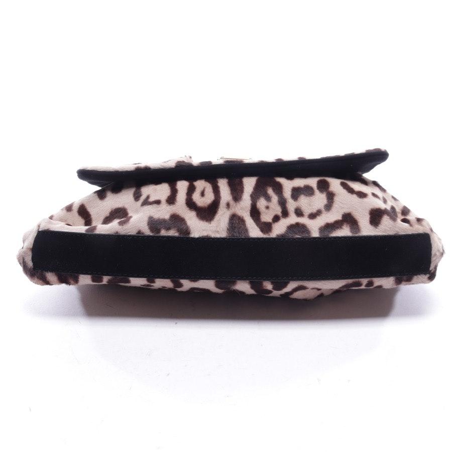 Schultertasche von Dolce & Gabbana in Beige und Braun - Pochette Pony Leo Grigio Camos Neu