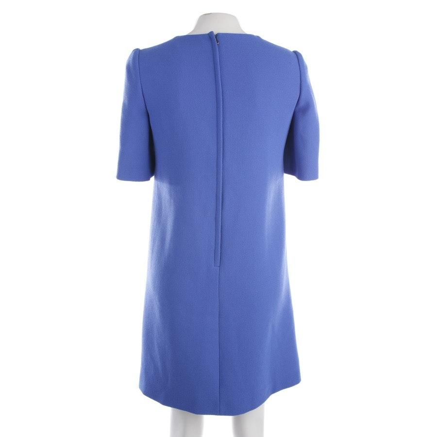 Wollkleid von Dolce & Gabbana in Blau Gr. 34 IT 40