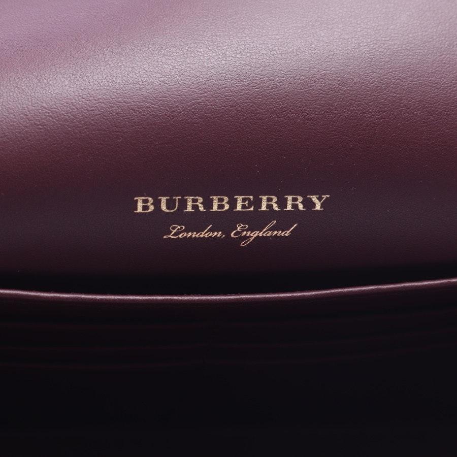 Abendtasche von Burberry in Rot