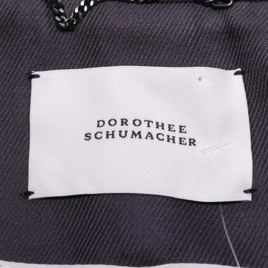 Übergangsjacke von Dorothee Schumacher in Dunkelgrau Gr. L