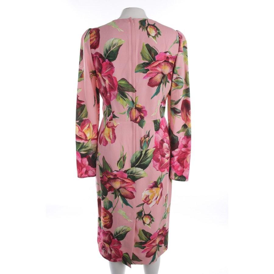 Sommerkleid von Dolce & Gabbana in Rosa und Multicolor Gr. 40 IT 46 - Neu