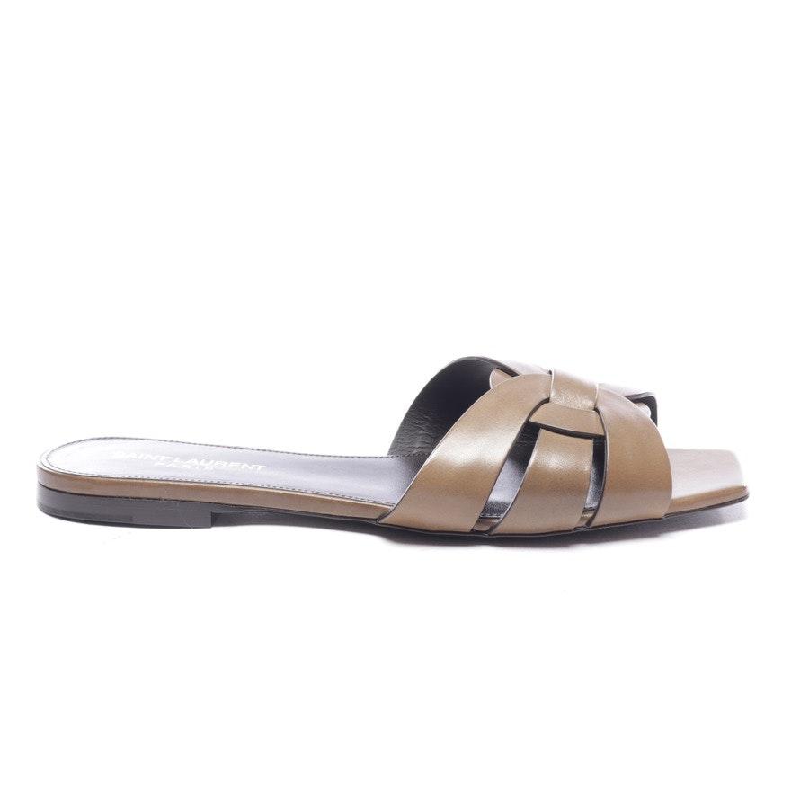 Sandalen von Saint Laurent in Grünbraun Gr. EUR 38 - Neu