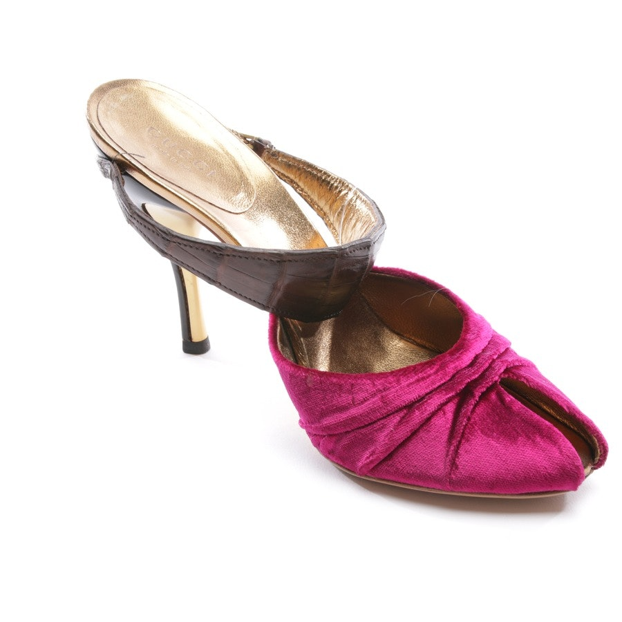 heeled sandals from Gucci in pink size D 36,5