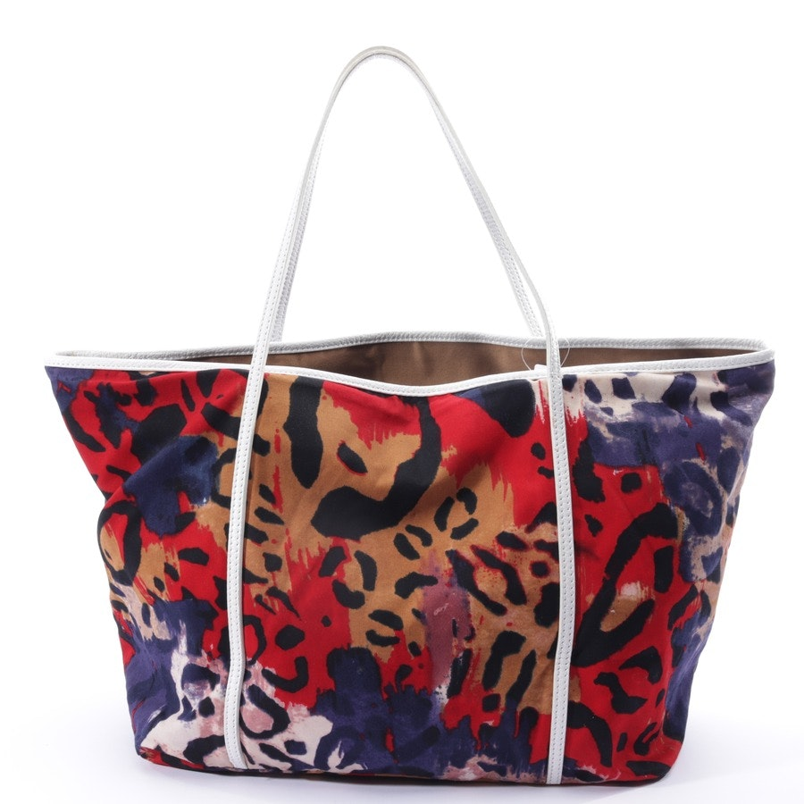 shopper from Diane von Furstenberg in multicolor and white