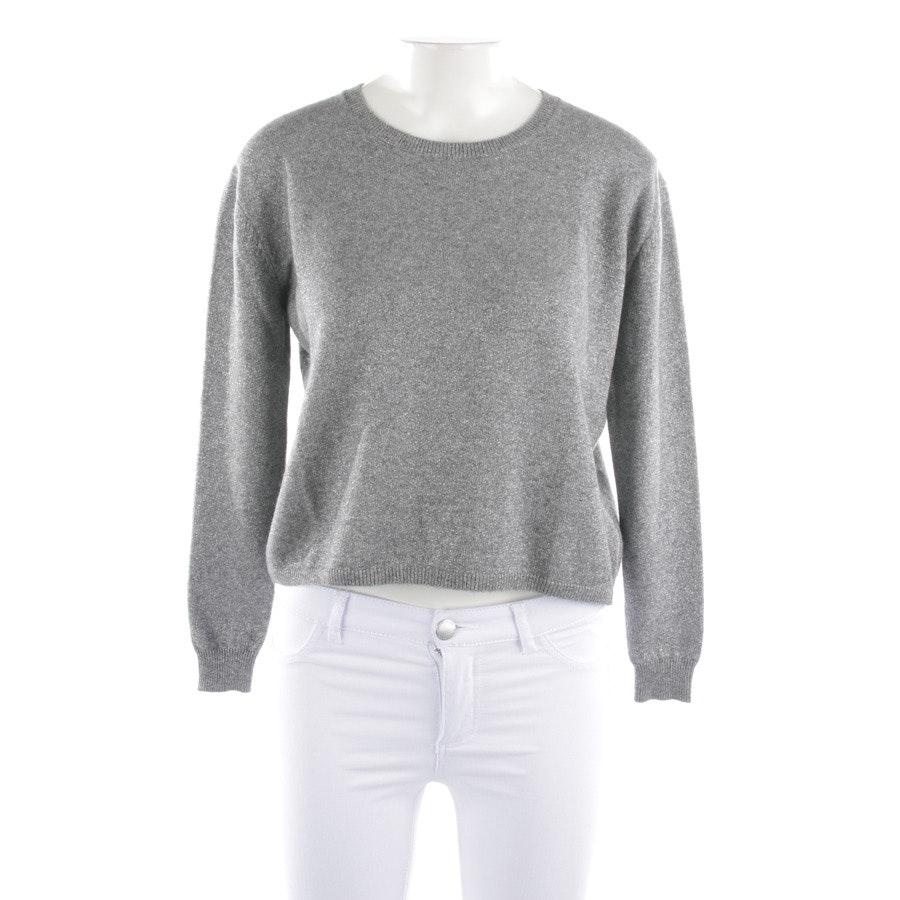 knitwear from Allude in grey mottled size XS