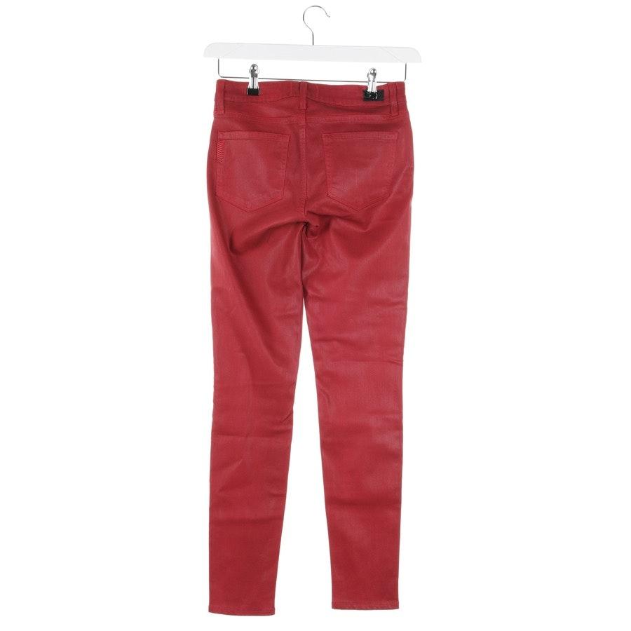 Jeans von Paige in Rubinrot Gr. W27