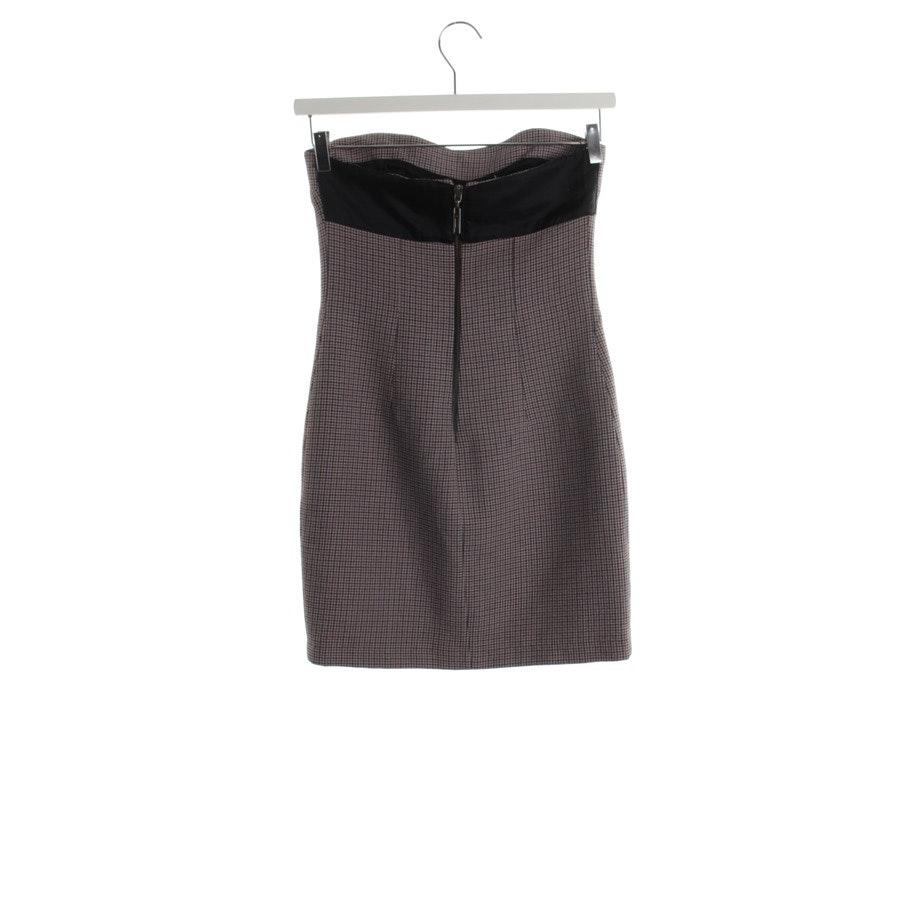 Kleid von Costume National in Schwarz und Grau Gr. DE 34 IT 40